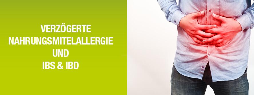 Verzögerte Nahrungsmittel-Allergien und Magen-Darm-Erkrankungen