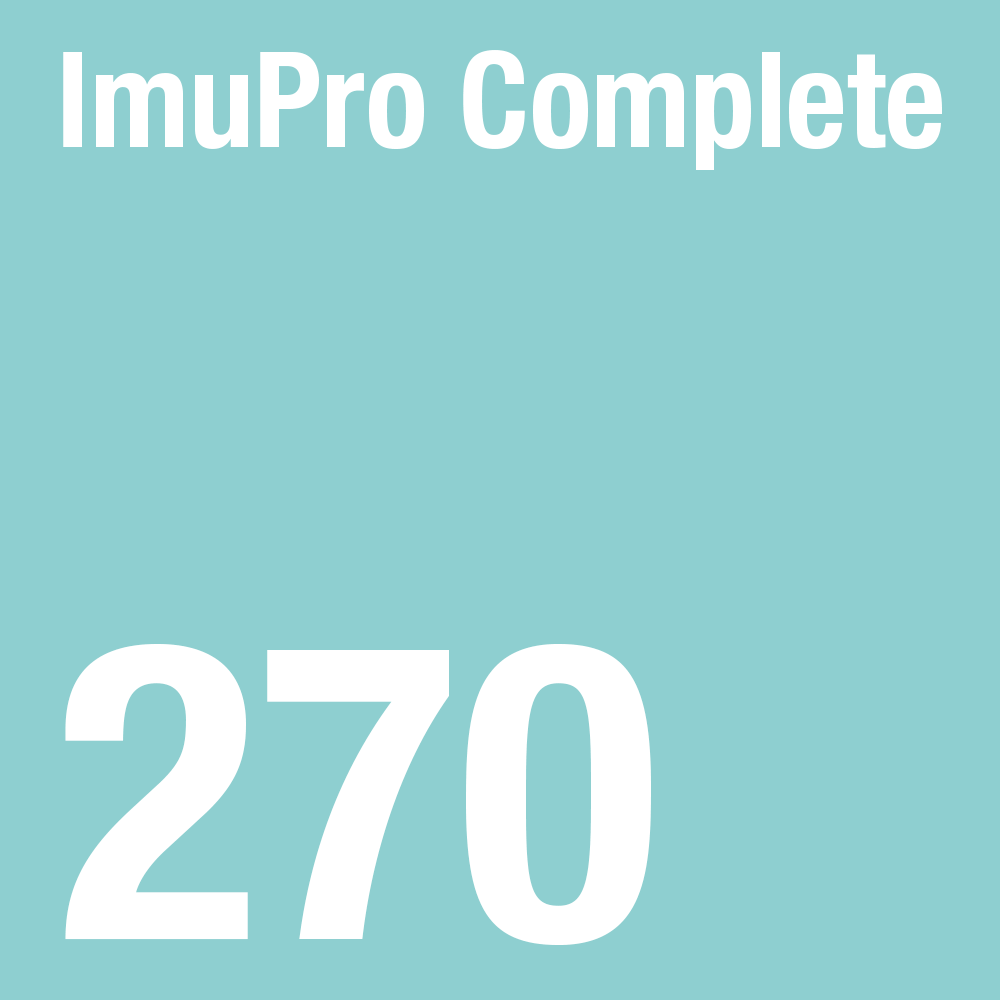 ImuPro Complete - 270 foods analysed